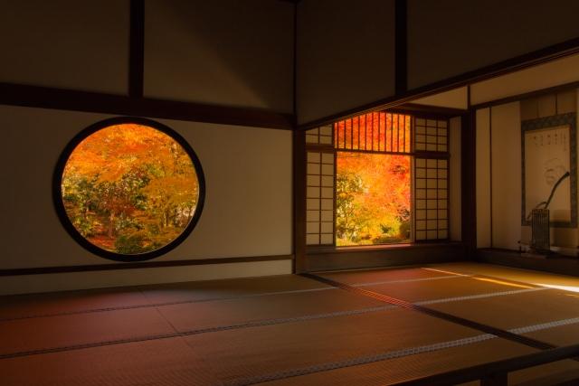 京都の和室
