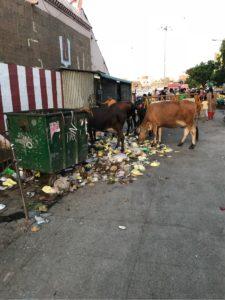 チェンナイの汚い町