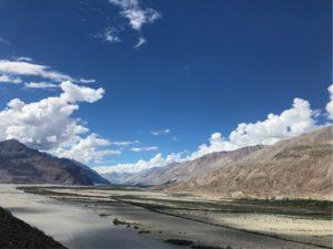 インド ラダック ヌブラ渓谷